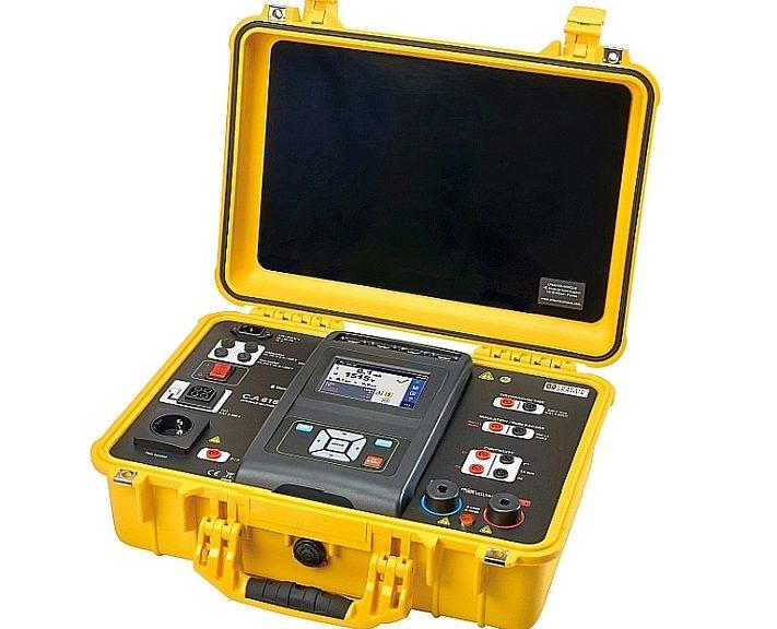 Appareil de contrôle et sécurité électrique C.A 6165 de Chauvin Arnoux.