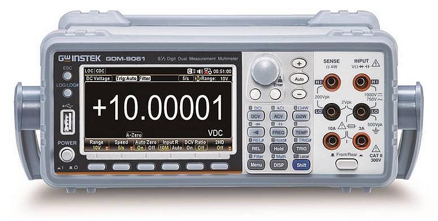 Multimètres GDM-906X de 6 ½ digits de GW Instek.