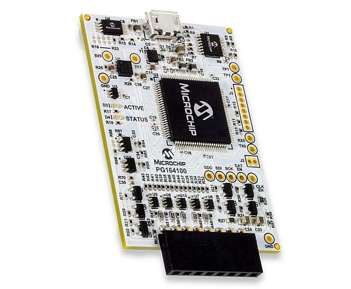 Kit MPLAB Snap de Microchip.