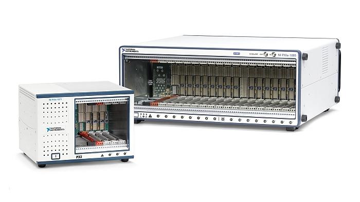 Châssis PXI de National Instruments.