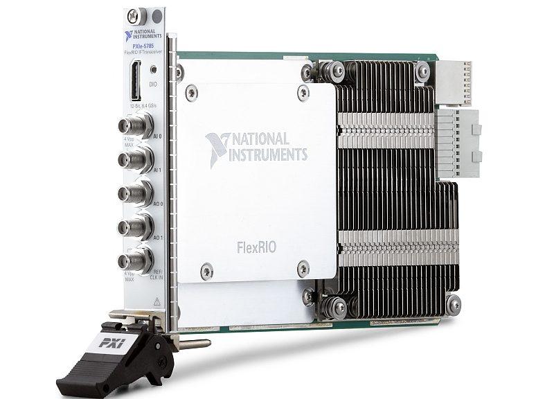 Emetteur-récepteur PXIe-5785 de National Instruments.