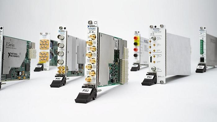 Modules PXI de National Instruments.