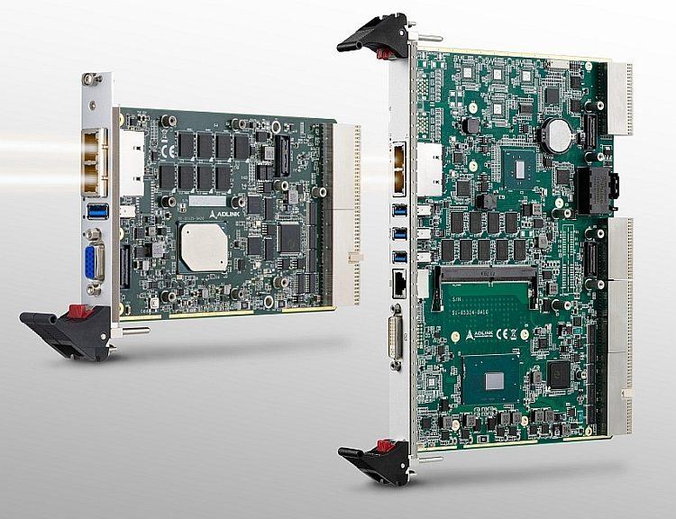 Cartes processeur cPCI-3630 et cPCI-6636 de Adlink.