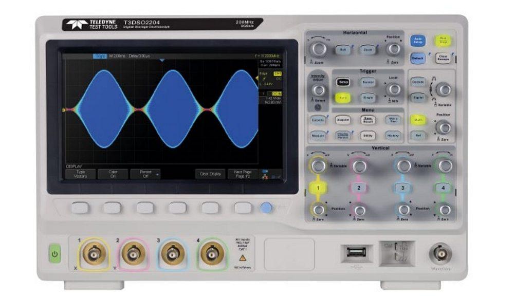 Oscilloscope T3DSO2000 de Teledyne Test Tools.