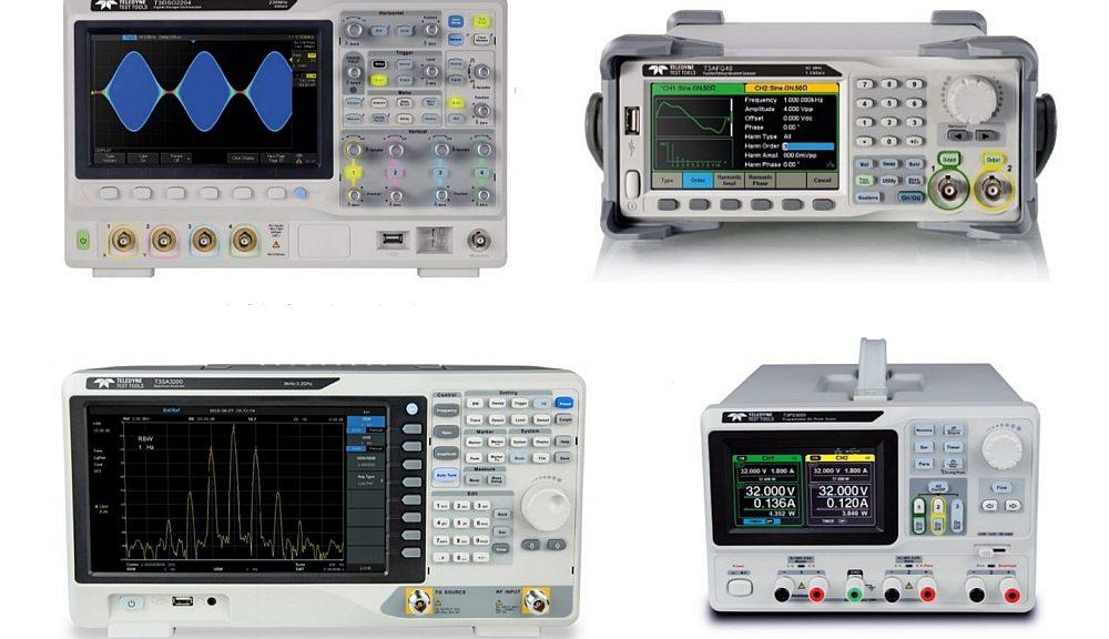 Gamme d'instruments de test électronique d'usage général de la marque Teledyne Test Tools (T3).
