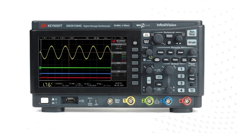 Oscilloscopes de la gamme Keysight InfiniiVision 1000 X-Series.