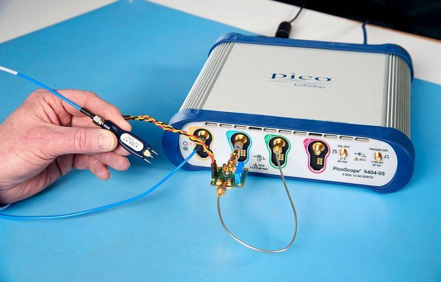 Module oscilloscope Picoscope 9404 de Pico Technology.