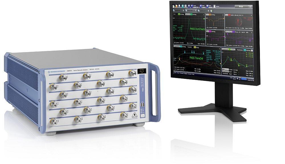 Analyseur de réseau vectoriel R&S ZNBT40 de Rohde & Schwarz.