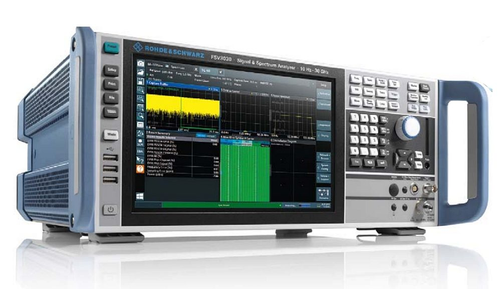 Analyseur de spectre FSV3000 de Rohde&Schwarz.