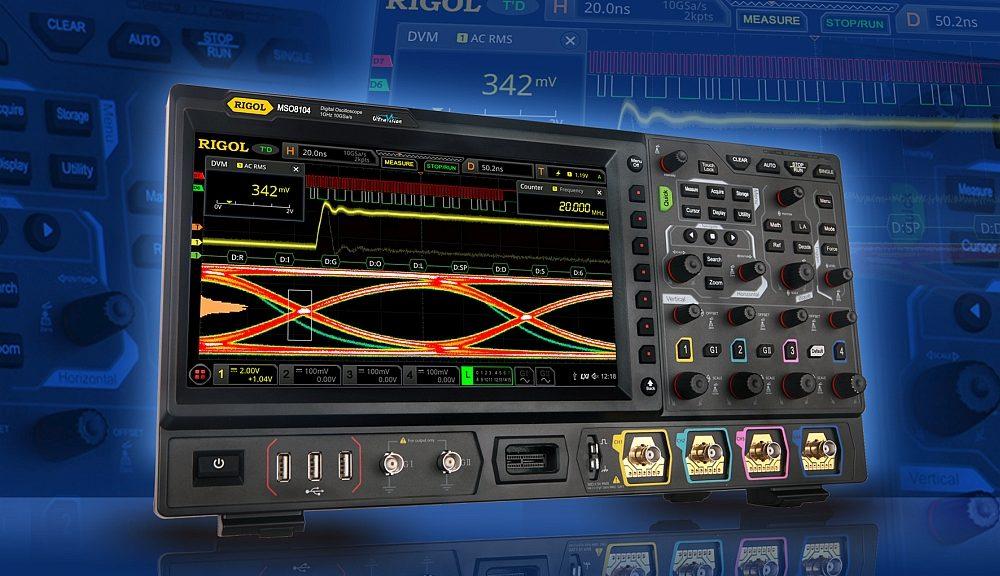 Oscilloscope MSO8000 de Rigol Technologies.