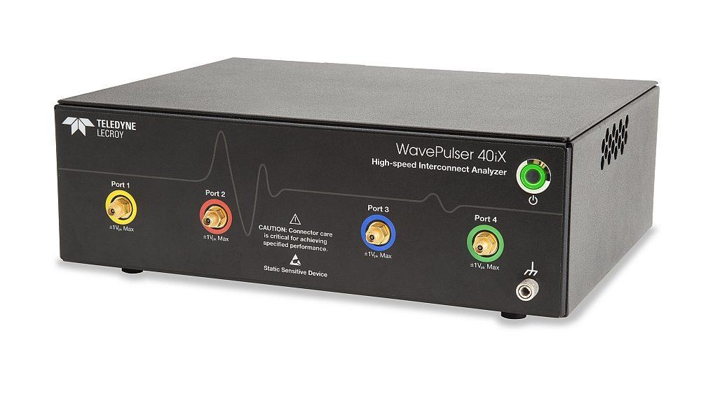 Analyseur d'interconnexions WavePulser 40iX de Teledyne LeCroy.