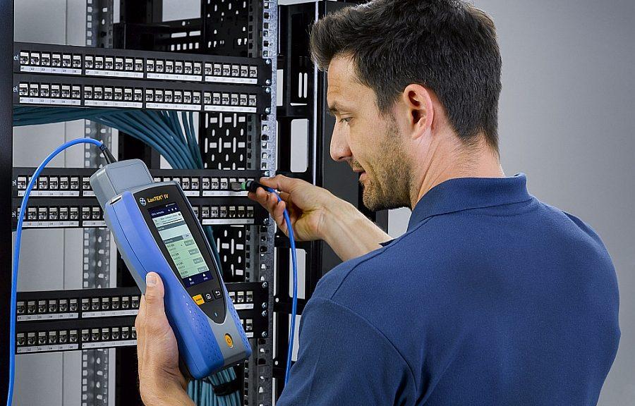 Certificateur de câblages LanTek IV de Ideal Networks.