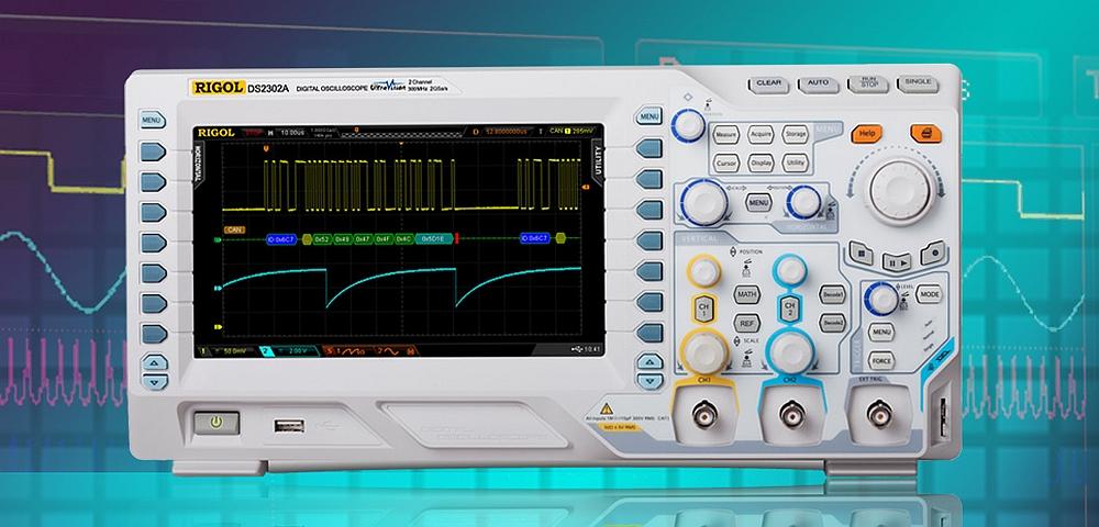 Oscilloscope DS2000A de Rigol Technologies.