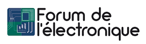 Logo salon Forum de l'électronique.