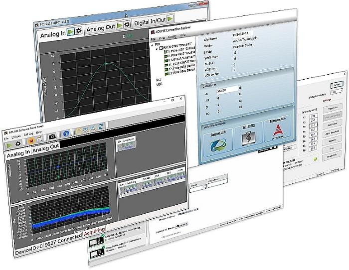 Suite logicielle MAPS de Adlink.