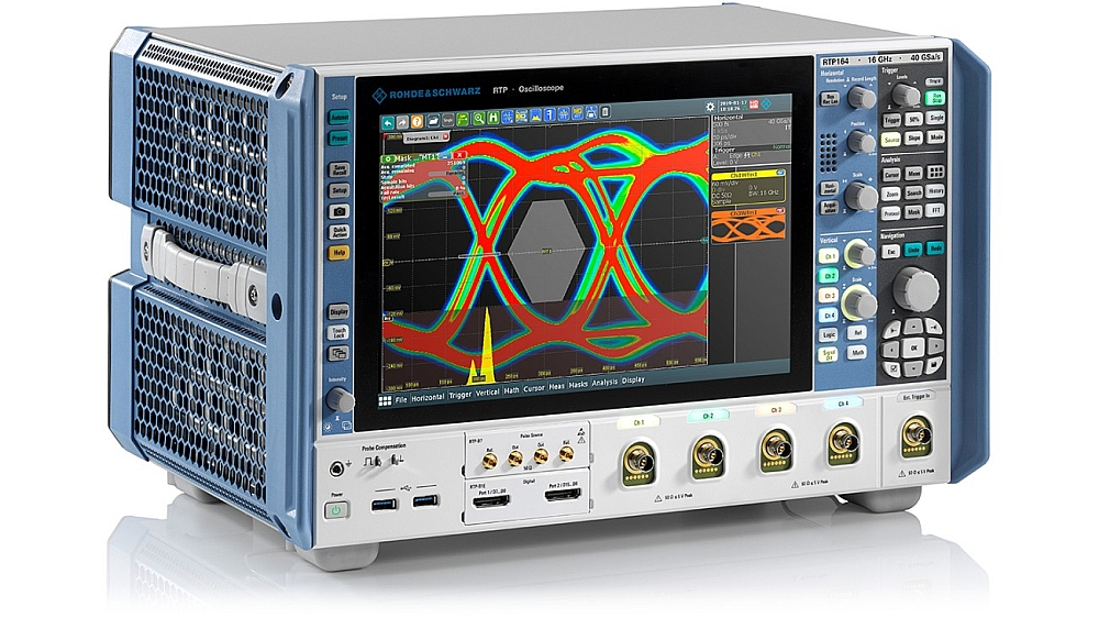 Oscilloscope RTP164 de Rohde & Schwarz.