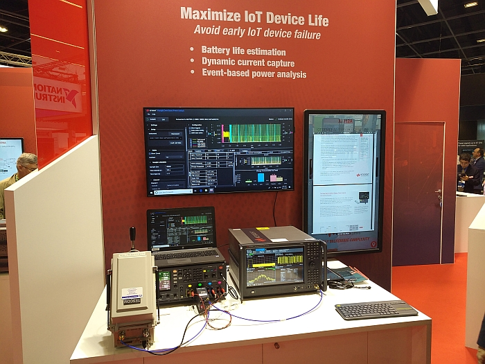 Solution de test IoT de Keysight.