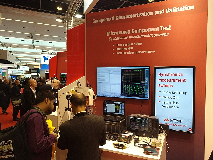 Solution de test micro-ondes de Keysight.