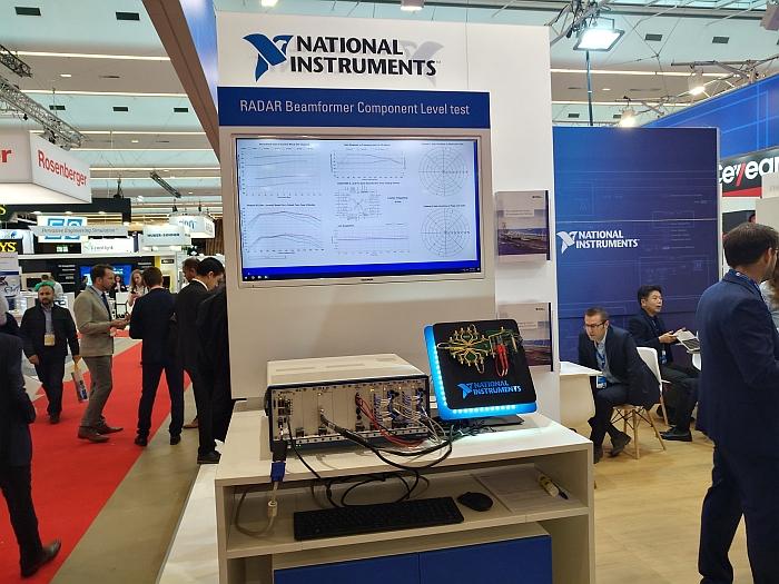 Solution de test radar de National Instruments