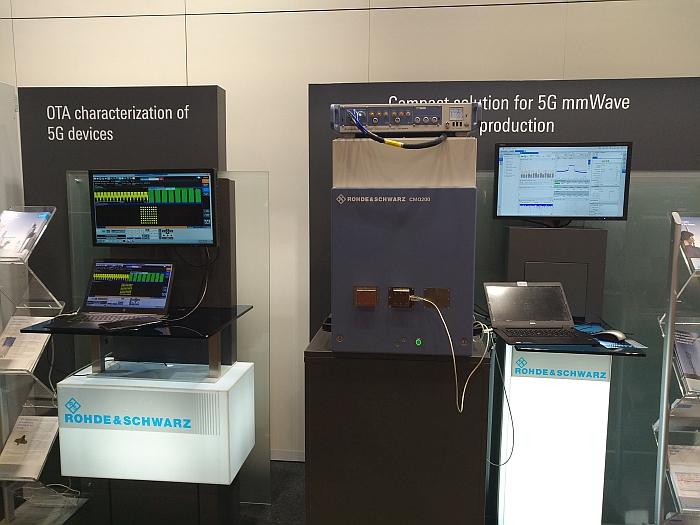 Solutions de test 5G de Rohde & Schwarz.