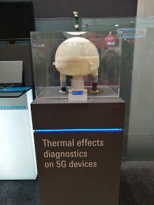 Solution de test 5G des effets thermiques de Rohde&Schwarz.