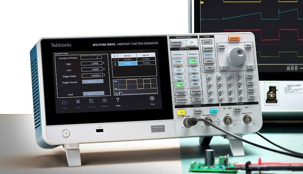 Test à double impulsion avec le générateur arbitraire AFG31000 deTektronix