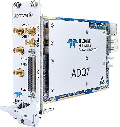 Carte PXIe ADQ7WB deTeledyne SP Devices.