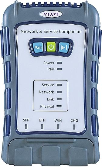 Testeur portable de réseaux NSC-100 de Viavi.