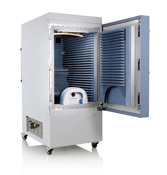 Chambre de test OTA R&S ATS1500C de Rohde & Schwarz.