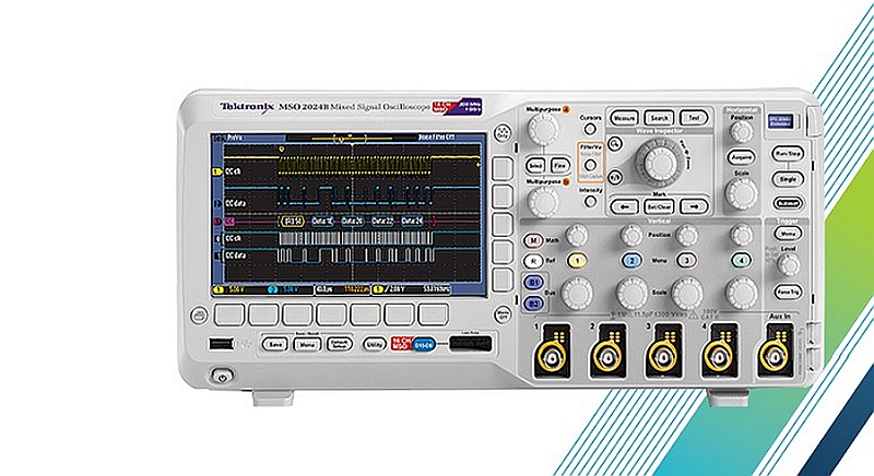 Oscilloscope MSO 2000B de Tektronix.