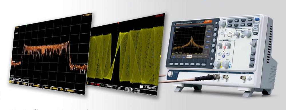 Oscilloscope MDO-2000A de GW Instek
