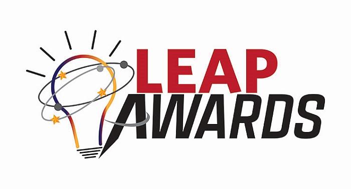 Leap Awards logo