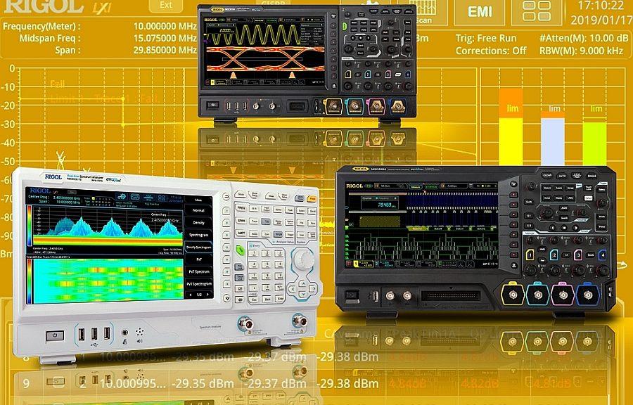 Instruments présentés par Rigol à Embedded World 2020.
