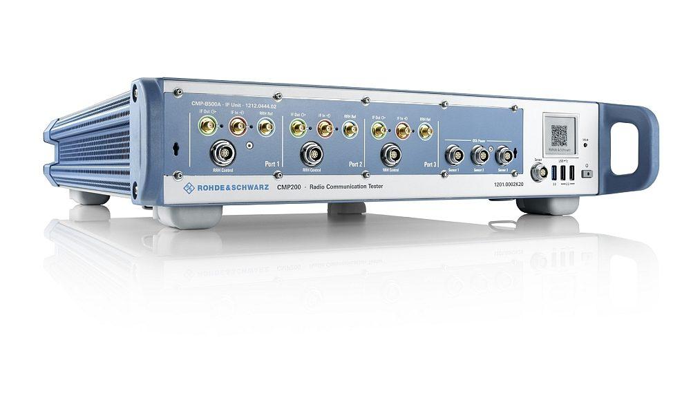 Testeur de communication radio R&S CMP200 de Rohde & Schwarz.