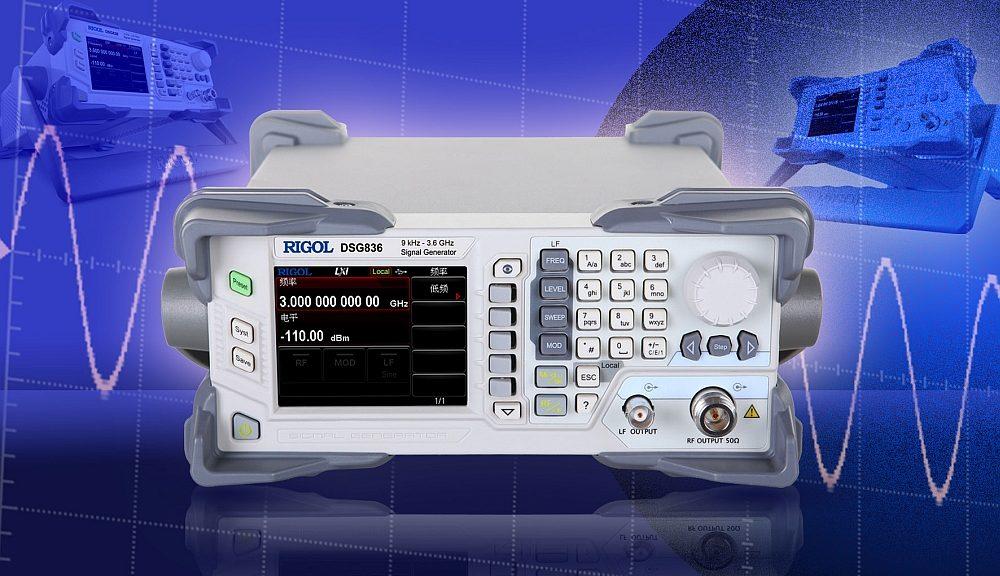 Générateur de signaux DSG800 de Rigol.