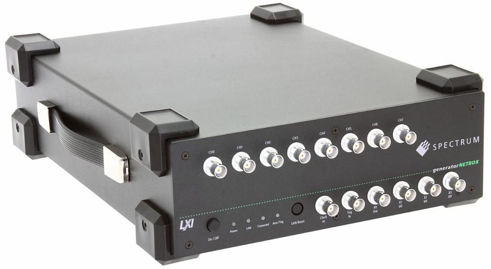 Générateur arbitraire multi-voies de la gamme generatorNetbox de Spectrum.