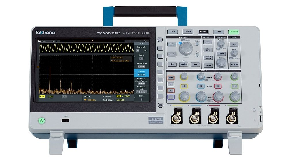Oscilloscope de la série TBS2000B de Tektronix