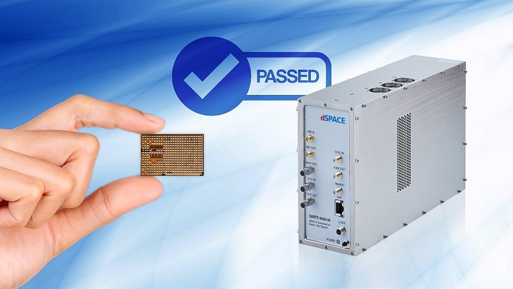 Test de la puce radar de Uhnder avec les solutions de dSpace.