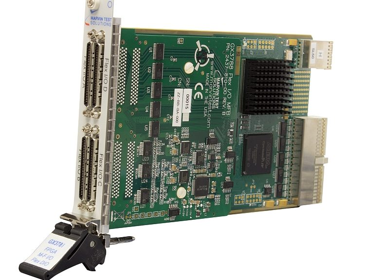 Carte PXI multifonction GX3788 de Marvin Test Solutions