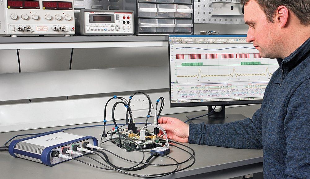 Oscilloscope MSO de la série PicoScope 6000E de Pico Technology