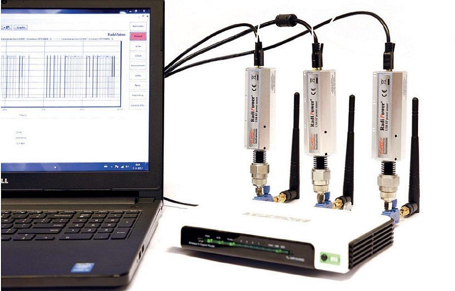 Sonde de puissance RadiPower RPR3006W de Dare! Instruments
