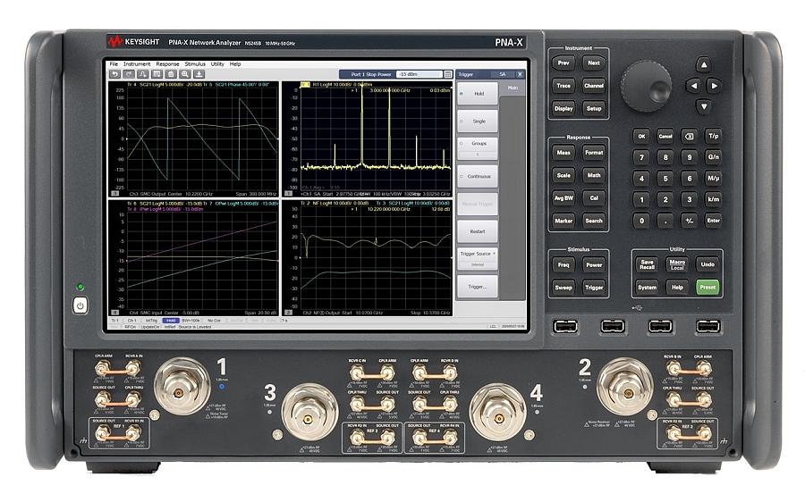 Analyseur de réseaux PNA-X de Keysight