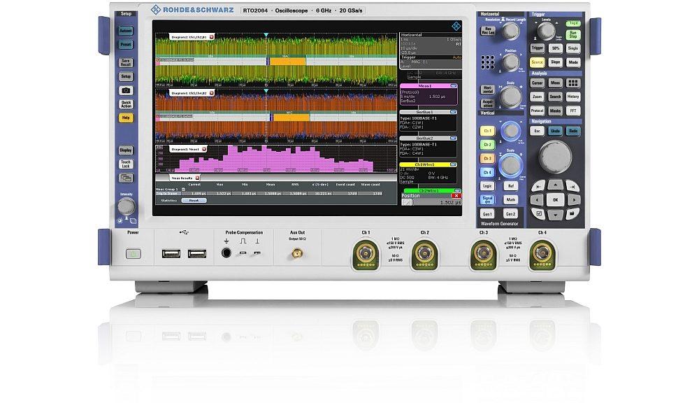 Option logicielle R&S RTx-K35 pour l'oscilloscope R&S RTO