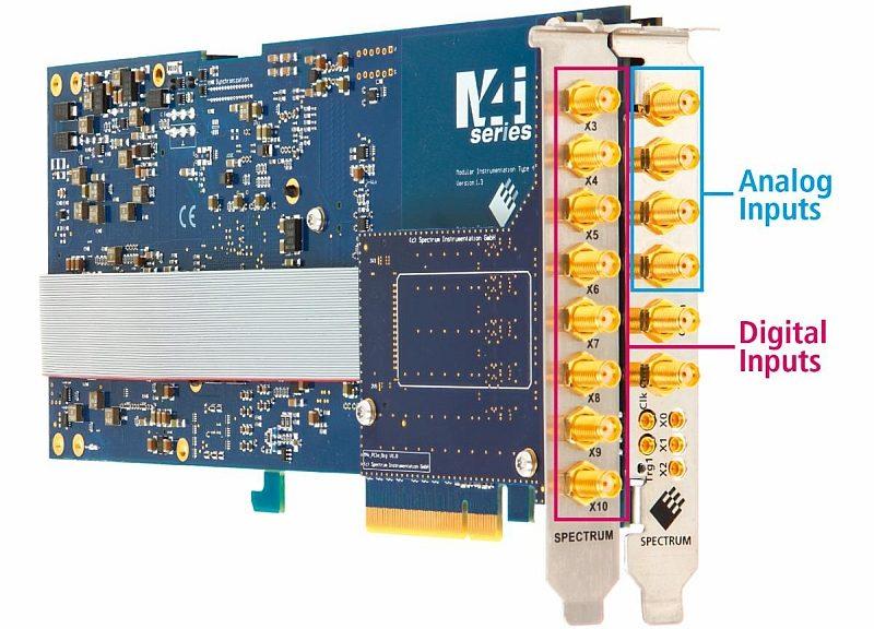 Numériseur PCIe M4i.44xx de Spectrum Instrumentation avec option M4i.44xx-DigSMA
