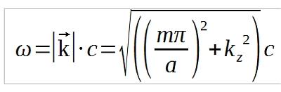 Equations de Maxwell,relation de dispersion