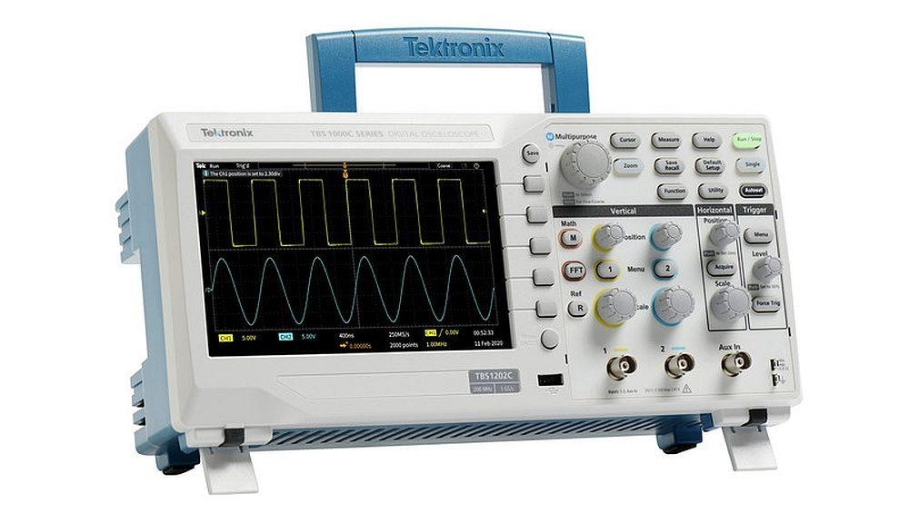 Oscilloscope TBS1000C de Tektronix