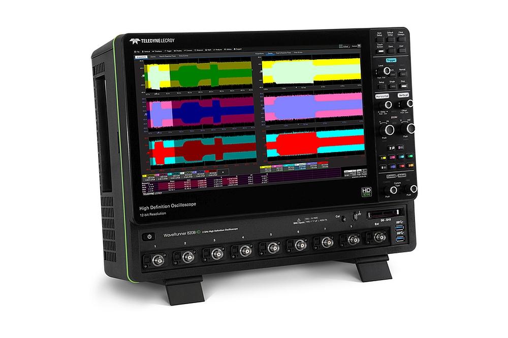 Oscilloscope WaveRunner 8000HD de Teledyne Lecroy