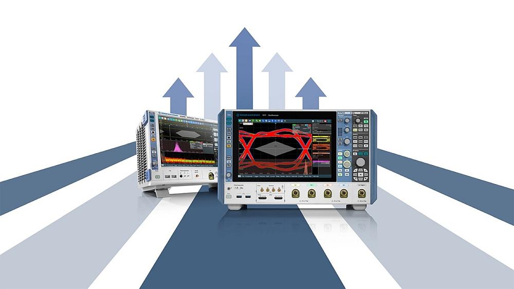 Oscilloscopes R&S RTO2000 et R&S RTP de Rohde & Schwarz
