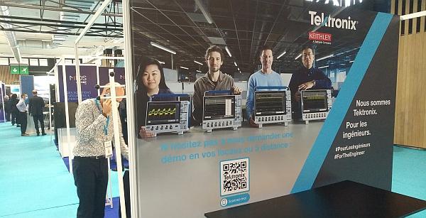 Tektronix sur salon RF & Microwave 2020