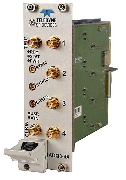 Carte d'acquisition PXI ADQ8-4X de Teledyne SP Devices